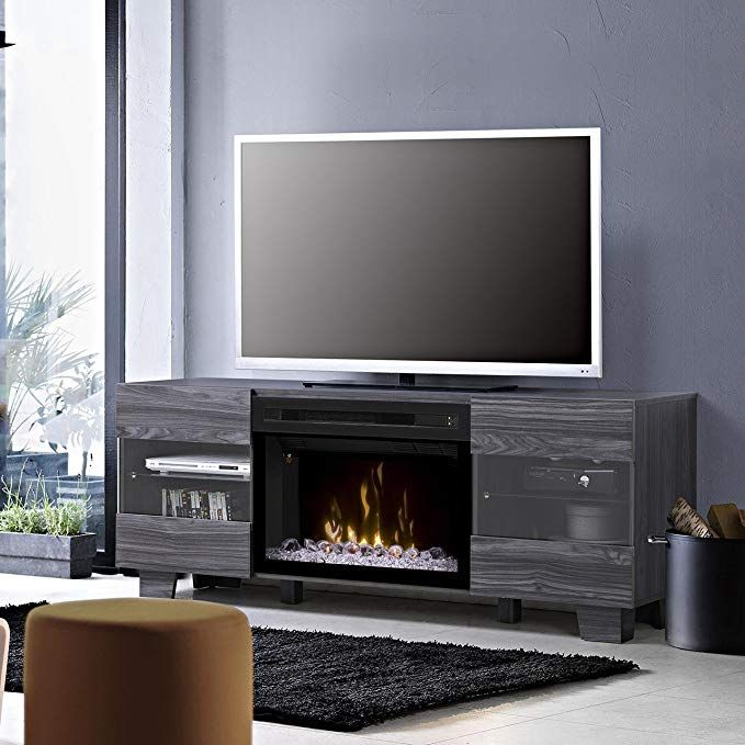 Dimplex Electric Fireplace Tv Stand Media Console Space Heater