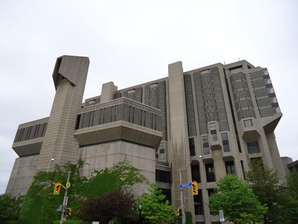 Yahoo login Brutalist architecture, University of