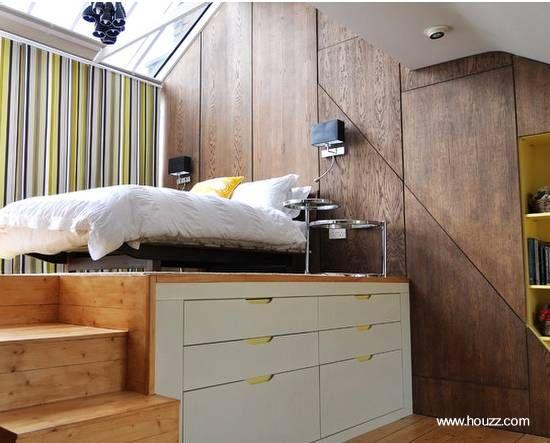 Mobiliario funcional plataforma dormitorio | DESIGN | Pinterest ...