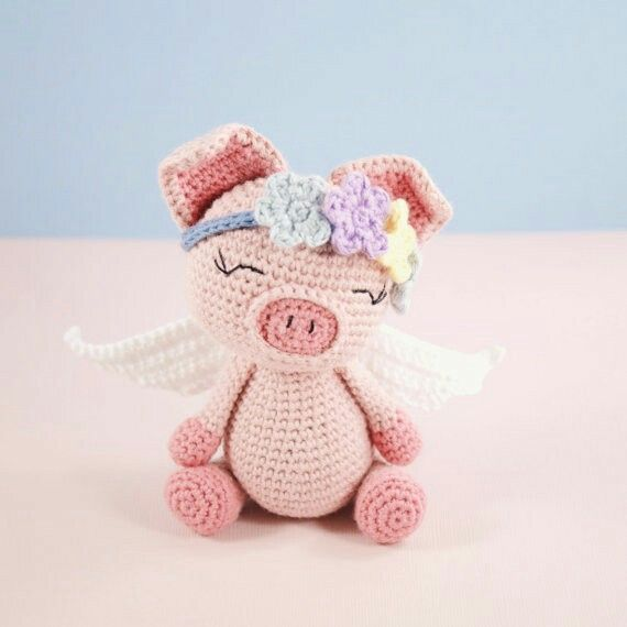 Pippa the pig | Baby items | Pinterest | Häkeln, Häkeltiere und ...