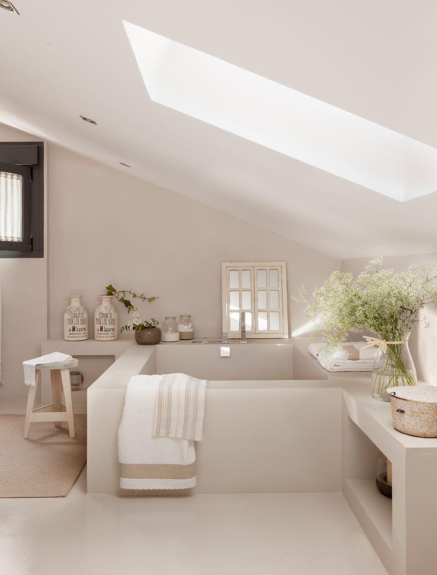 Una bañera para soñar | Baño microcemento, Microcemento y ...