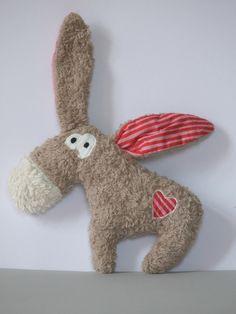 """Photo of Plüsch Esel """"Esther Donkey"""" Plüschtier Bio-Plüsch von Coccoloso auf DaWanda.com"""
