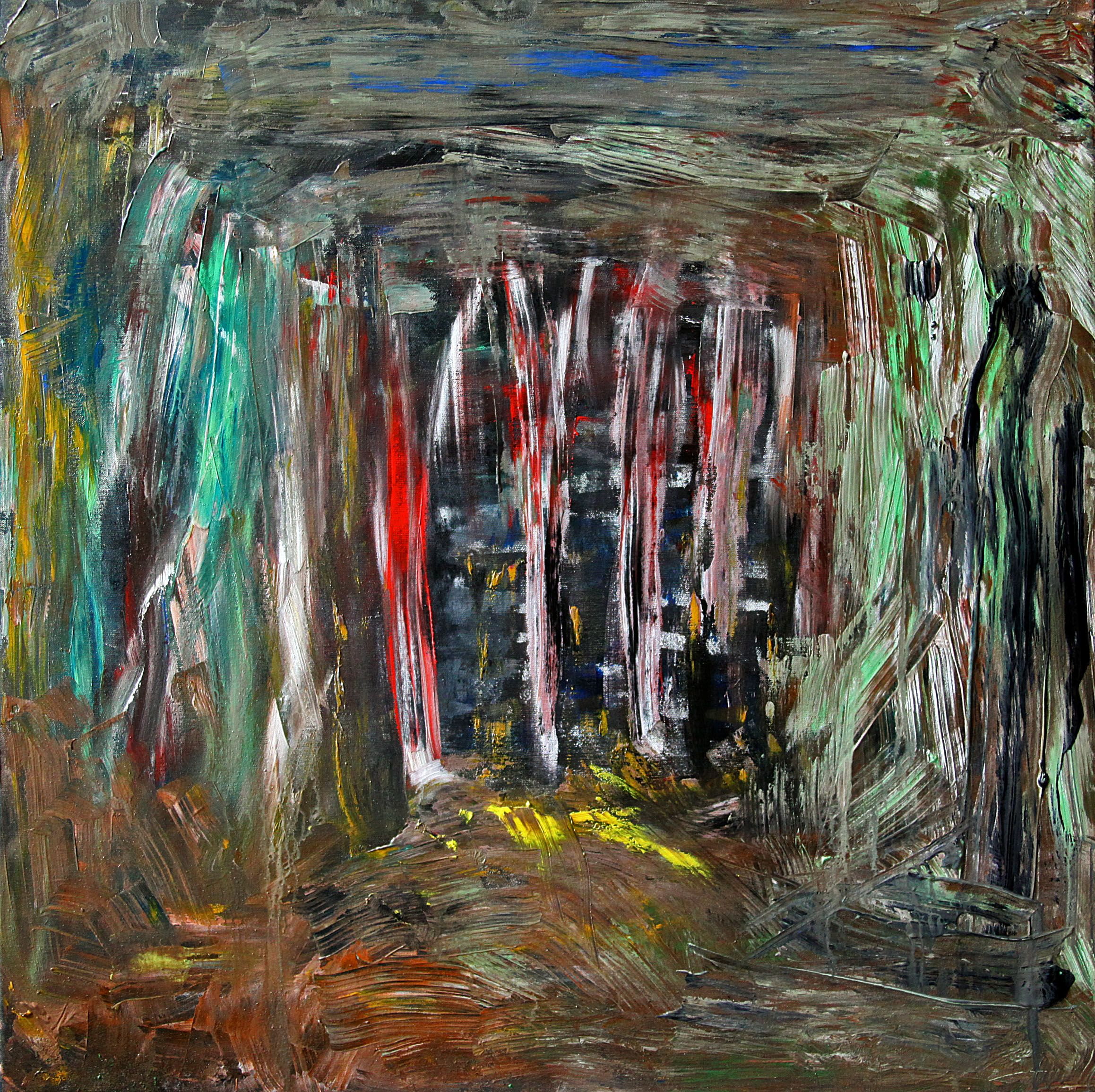 Friends Of Carlotta - Acryl, Keilrahmen, 80x80 cm ...