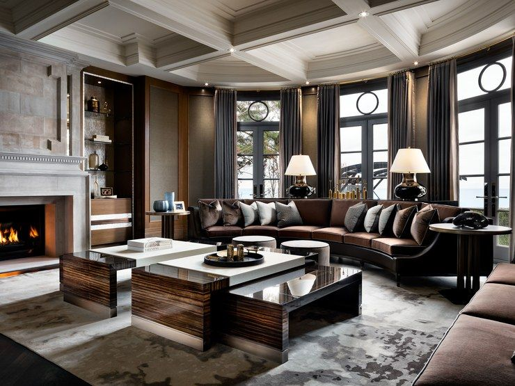 An ultra luxurious 50 million canadian home that s - Cheap living room furniture toronto ...