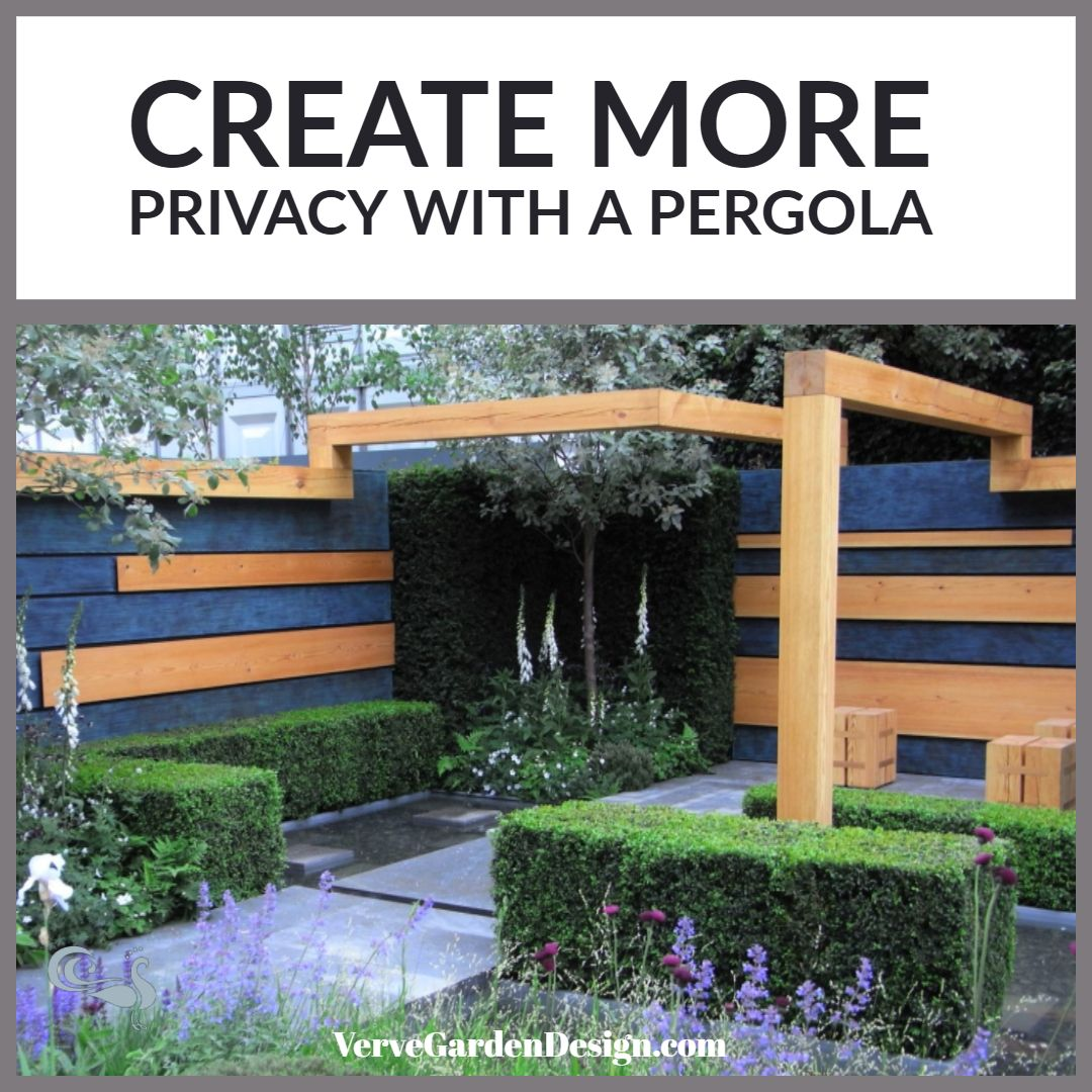 How To Make Your Garden Feel More Intimate With a Pergola ...