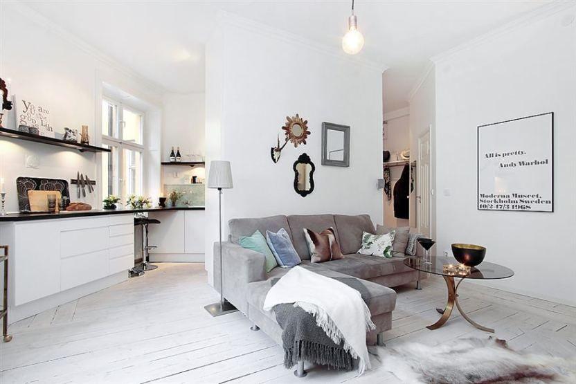 optimizar espacio decoración estilo nórdico pisos pequeños