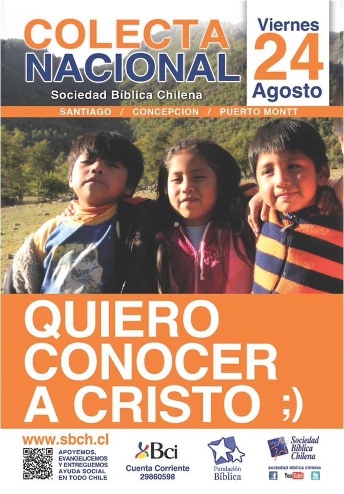 Afiche de Colecta 2012