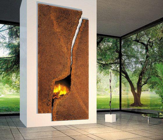 cosmofocus moderner kaminofen naturstein verkleidung modern fireplace custom fireplace focus