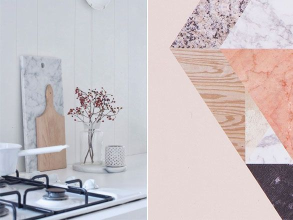 De Marmer Trend : Marmeren snijplanken van e design marmer marble trend