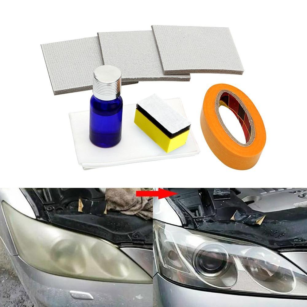 Diy headlight restoration kit car headlights headlight