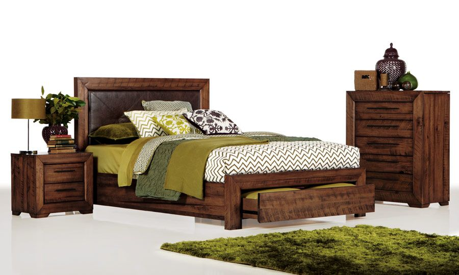 Aspen Timber King Size Bed Bedshed Love The Accessories For This Suite Real Clever Dressing
