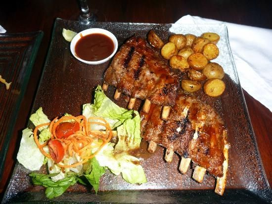 Sang Ria Restaurant Legian Ribs