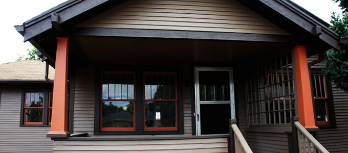 Professional exterior paint restoration for historic homes - Craftsman home exterior paint colors ...
