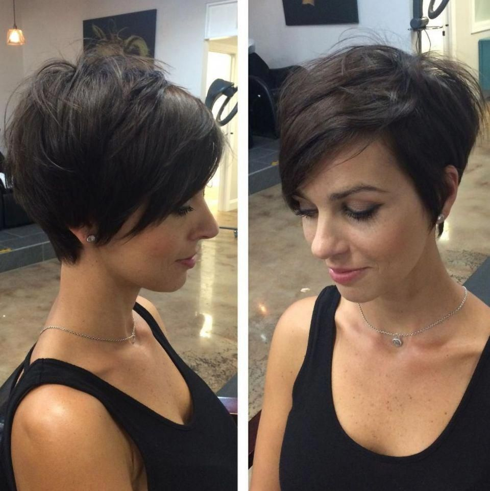 60 Gorgeous Long Pixie Hairstyles In 2020 Long Pixie Hairstyles Thick Hair Styles Short Hair With Layers
