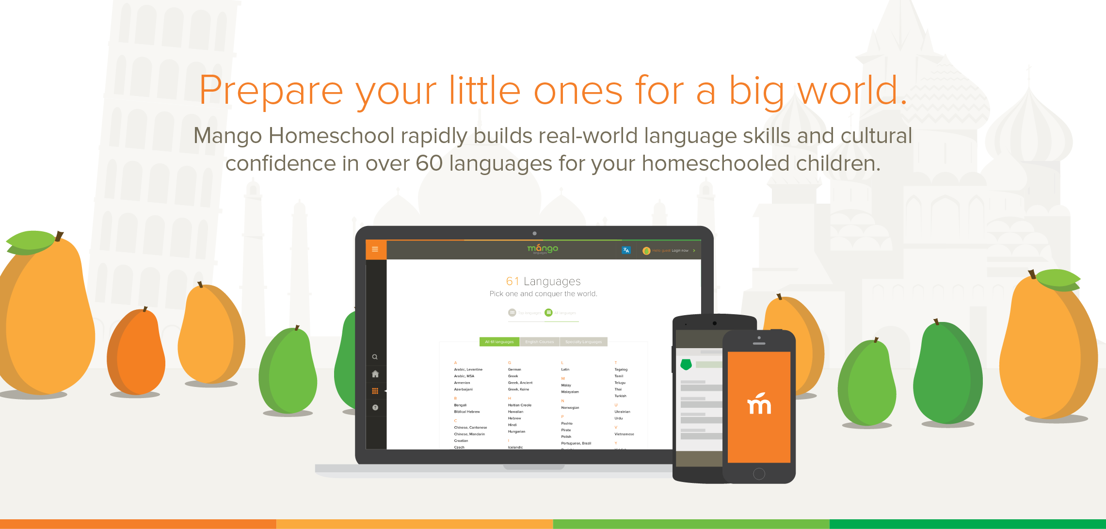 Mango Homeschool Prepare your little ones for a big