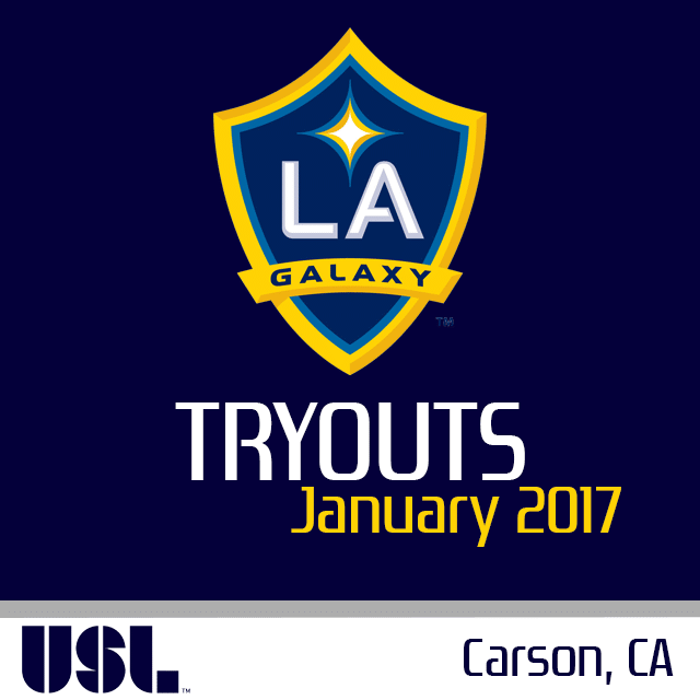 La Galaxy Ii 2017 Tryouts Usl La Galaxy Galaxy Soccer League