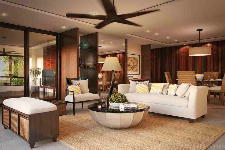 Manosa interior design modern bahay kubo asian resort for Living room interior design philippines