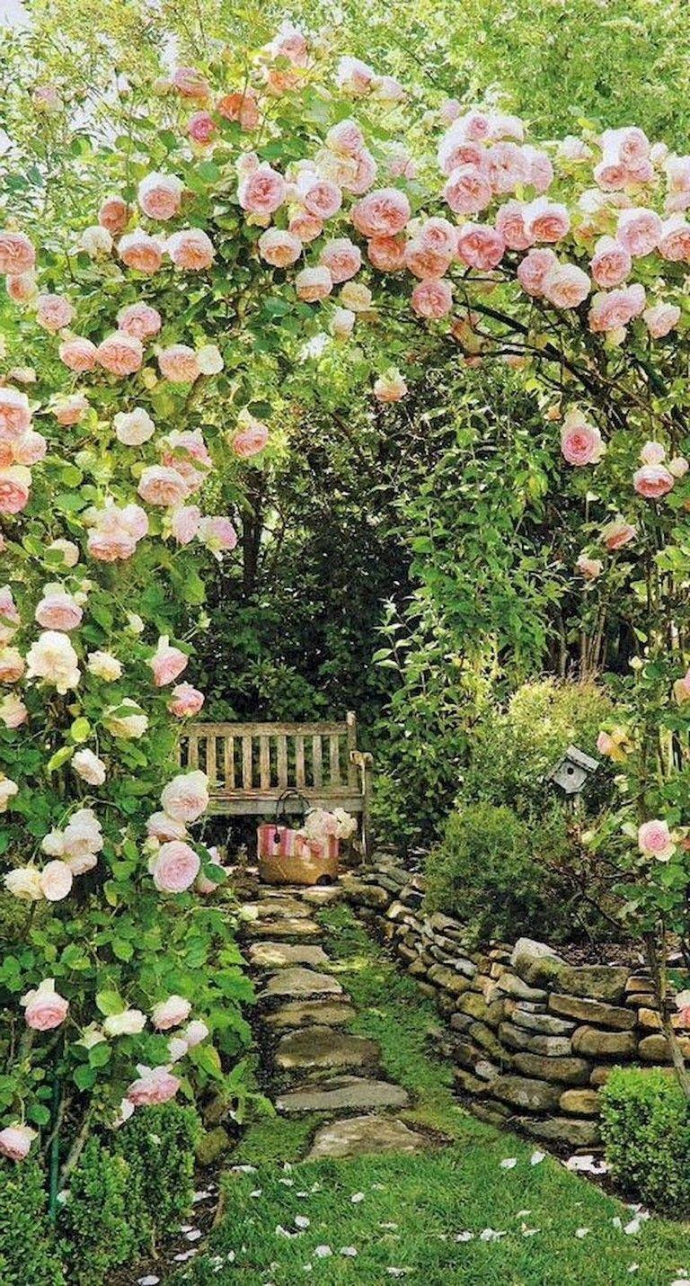 94+ Schöne moderne englische Landgarten-Design-Ideen