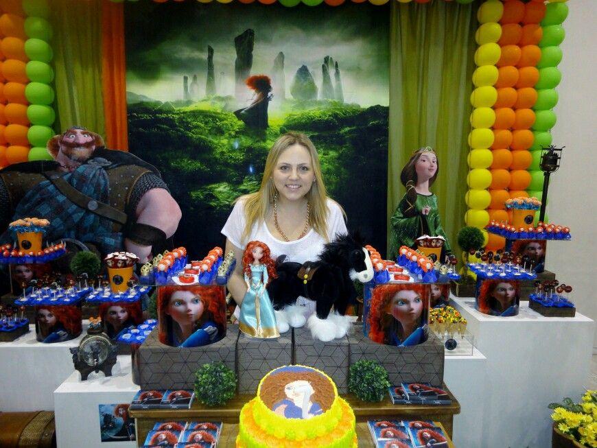 Brave party mesa dulce por Danny Machado