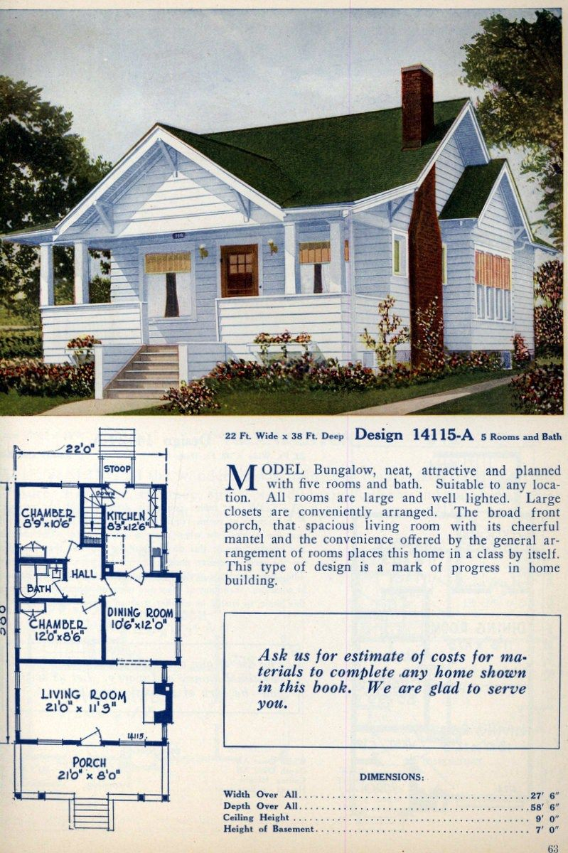 American Home Designs Vintage House Plans In 2019 House Plans