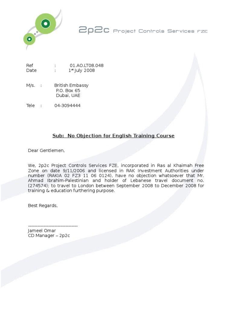 Sample objection letter certificate noc ahmad ibrahim british sample objection letter certificate noc ahmad ibrahim british embassy aiddatafo Images