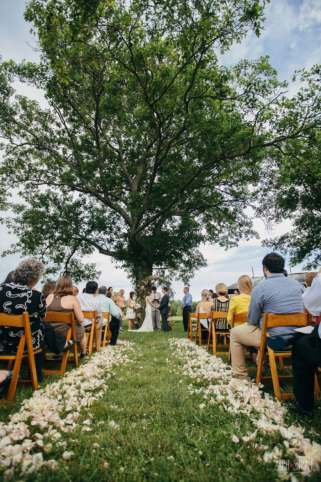 Hayley + Harrison | Heritage Hall lawn | Zach and Sarah Photography | Main Event Productions
