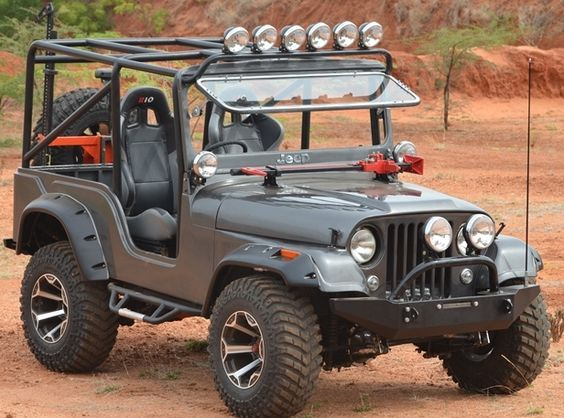 Modified Thar 4 4 Jeep Cj Willys Jeep Classic Jeeps