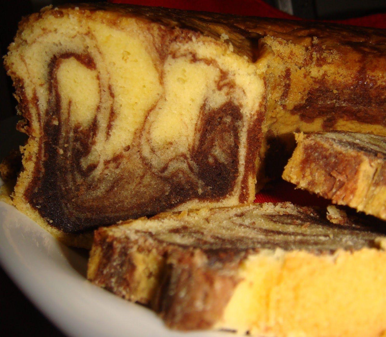 Tips Trik Memasak Resep Marmer Cake Legendaris Kue Lezat Makanan Makanan Manis
