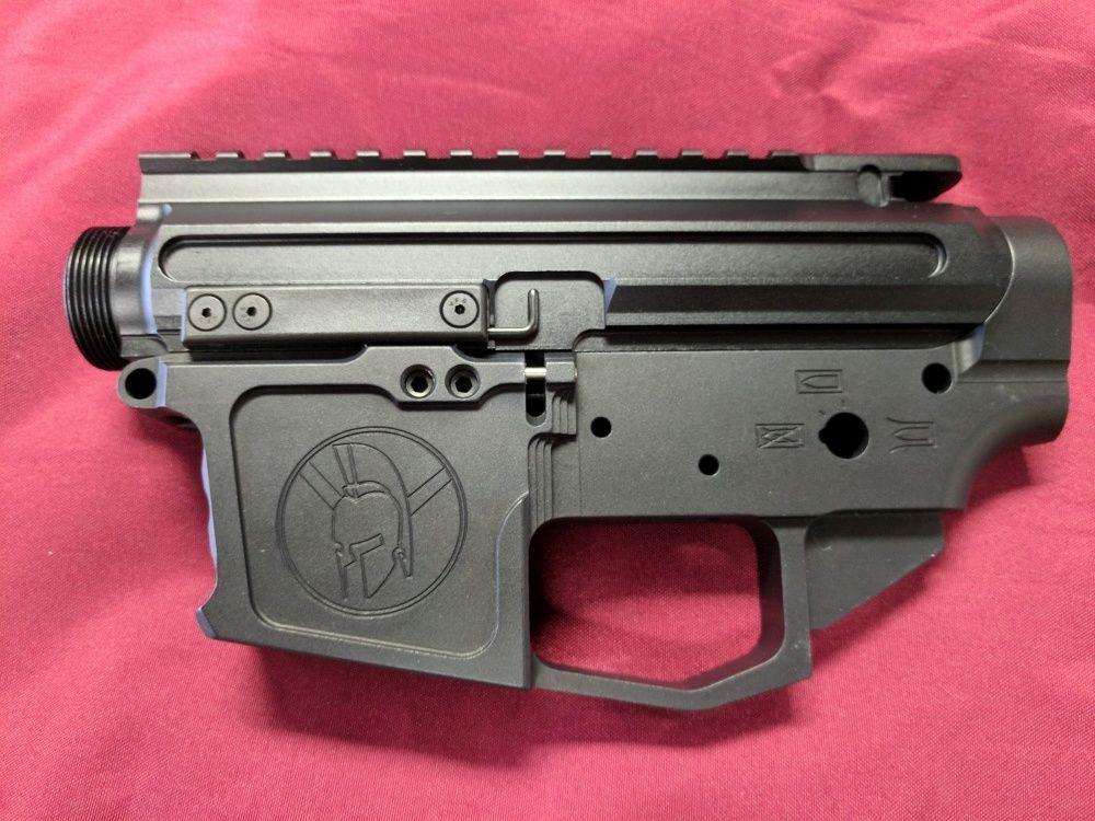 Glock Mag Pistol Caliber (9mm, 40 S&W, 357 SIG) AR Billet Receiver