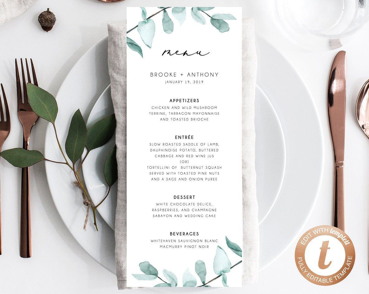 INSTANT DOWNLOAD Wedding Menu Template, Printable Menu, Editable Wedding Menu, Greenery Wedding Menu, DIY Wedding Menu, Templett, W21 #weddingmenutemplate INSTANT DOWNLOAD Wedding Menu Template, Printable Menu, Editable Wedding Menu, Greenery Wedding Menu, DIY Wedding Menu, Templett, W21 #weddingmenutemplate INSTANT DOWNLOAD Wedding Menu Template, Printable Menu, Editable Wedding Menu, Greenery Wedding Menu, DIY Wedding Menu, Templett, W21 #weddingmenutemplate INSTANT DOWNLOAD Wedding Menu Templ #weddingmenutemplate
