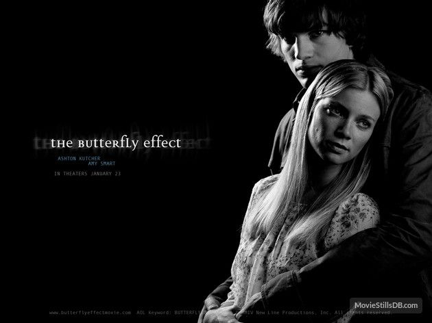 The Butterfly Effect Wallpaper With Ashton Kutcher Amy Smart The Butterfly Effect 2004 Butterfly Effect Movie Archive