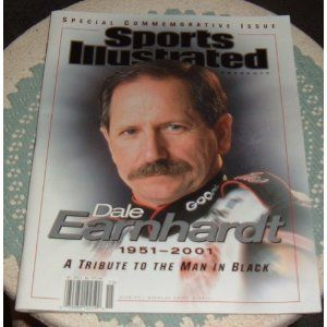 Sports Illustrated Presents Dale Earnhardt 1951-2001 - A Tribute to the Man in Black: Special Commemorative Issue Magazine 2/28/01 to 5/28/01- Back issue Nascar collectible by Sports Illustrated. $27.50. Issue date: February 28, 2001 through May 28, 2001. Features Dale Earnhardt Sr. on the cover.. Sports Illustrated Presents Dale Earnhardt 1951-2001 - A Tribute to the Man in Black: Special Commemorative Issue Magazine. 80 page Sports Illustrated Special Commemorative Issue.  A T...