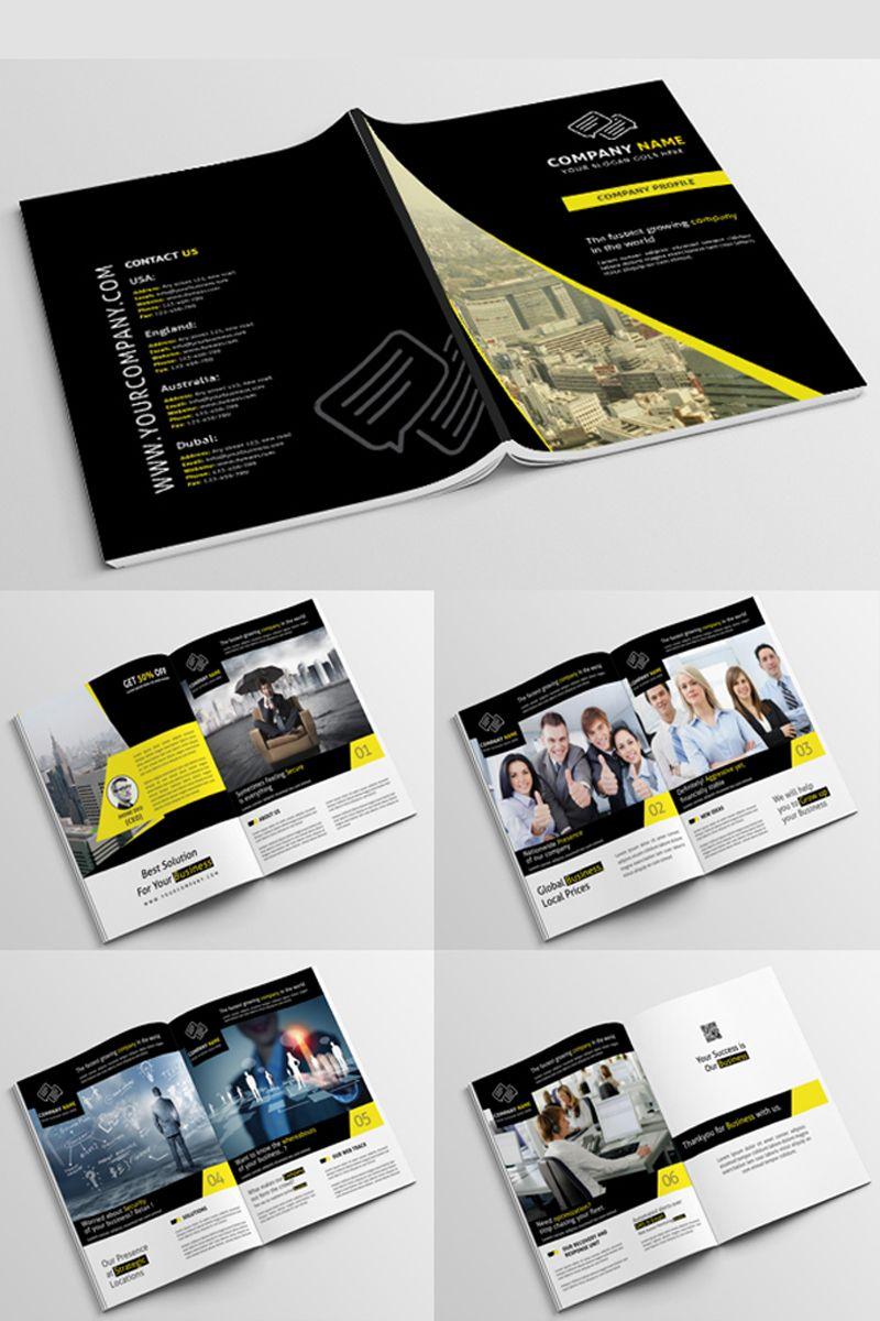 Company Profile Psd Corporate Identity Template Psd Profile Company Template Corporateide Company Profile Design Company Profile Template Company Profile