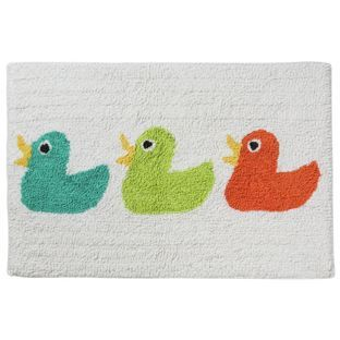buy ducks motif bath mat at argos co uk your shop for