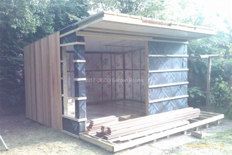 Garden Office Membrane Shed Floorcorner