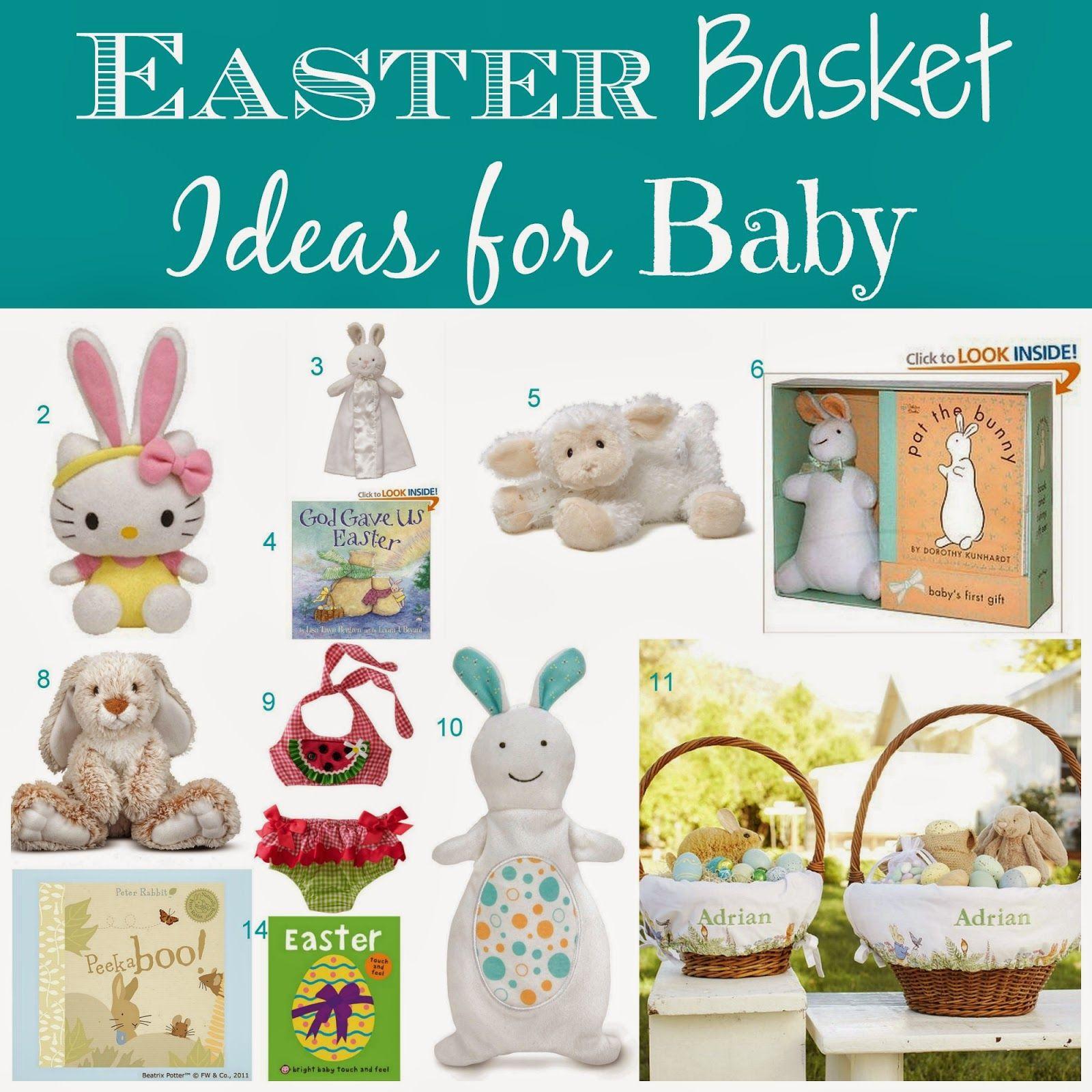 Babys first easter basket thenotquitemilitarywife kid the not quite military wife babys first easter basket negle Images