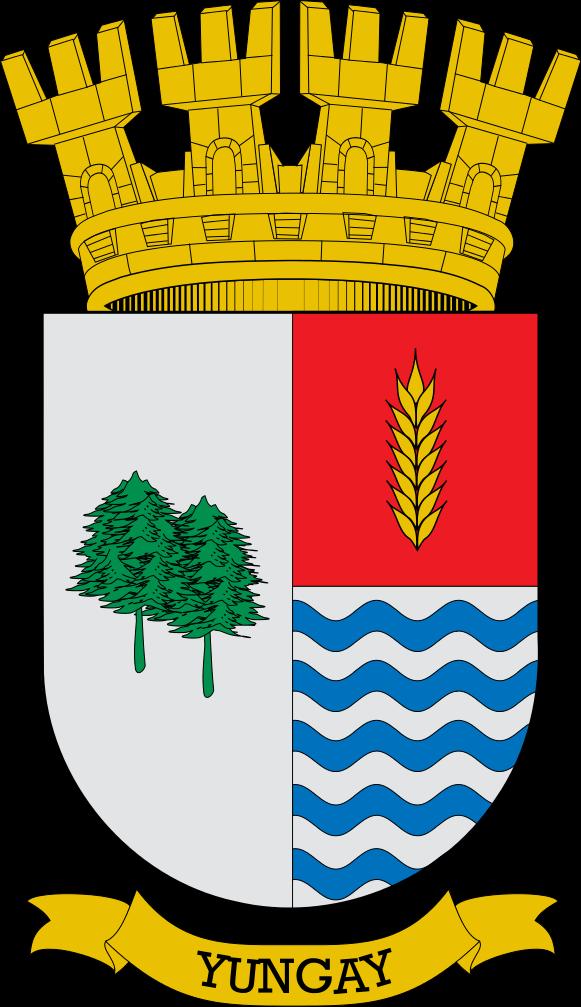Escudo De La Comuna De Yungay