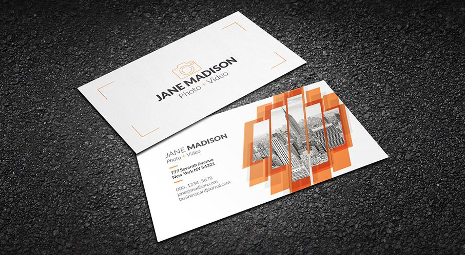 Free Cool Abstract Photographer Business Card Template Photography Business Cards Template Photographer Business Cards Examples Of Business Cards