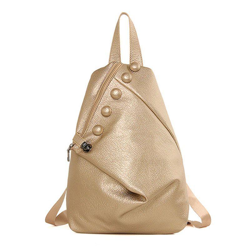 PU Leather Women Backpack Lady Backpacks Female Casual Shoulder Bags School  Bag Mochila Feminina B15369 65ea95e79b674