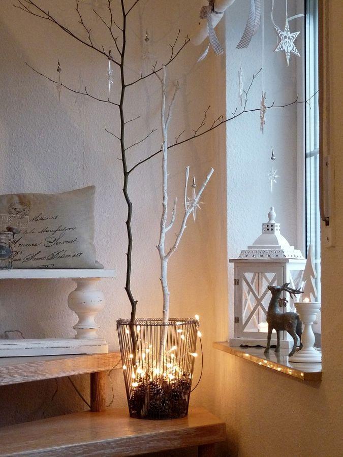 Gut gemocht Treppendeko | äste | Deko weihnachten, Weihnachten und Weihnachtsbaum GM64