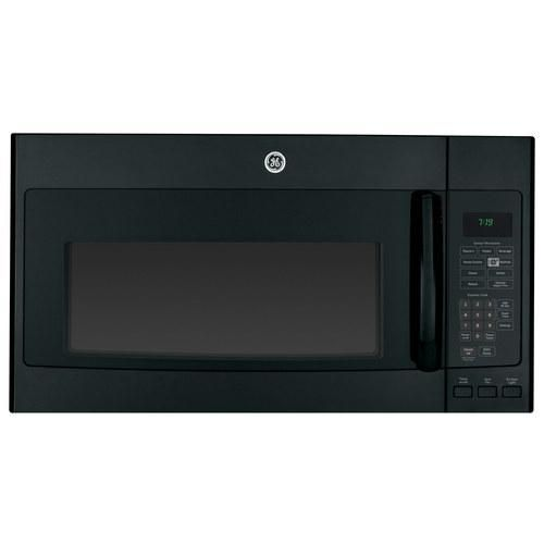 Ge 19 Cu Ft Over The Range Microwave Black Larger Front
