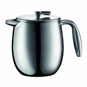 decided Bodum Columbia 4 Cup Stainless Steel Thermal Vacuum Coffee