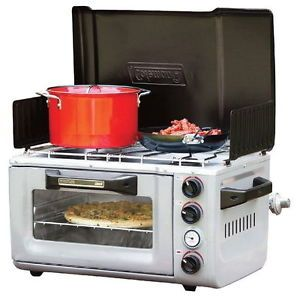 Coleman Outdoor Portable Stove u0026 Oven C&ing Cooking Propane Tent C& Cook NEW  sc 1 st  Pinterest & Coleman Outdoor Portable Stove u0026 Oven Camping Cooking Propane Tent ...