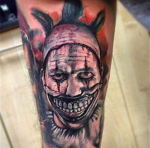 Pin On Horror Tattoos