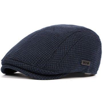 7f6b494d15e37 Mens Cotton Gatsby Flat Beret Cap Ivy Hat Golf Hunting Driving Cabbie Hat