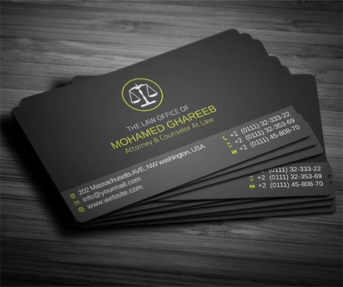 30 Must See Lawyer Business Card Designs Tarjetas De