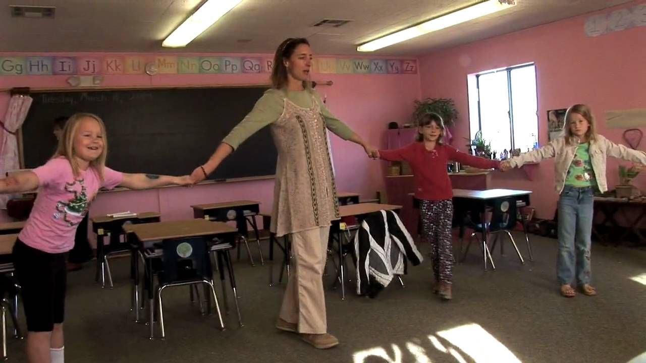 Circle Time at Free Waldorf-Inspired Charter School