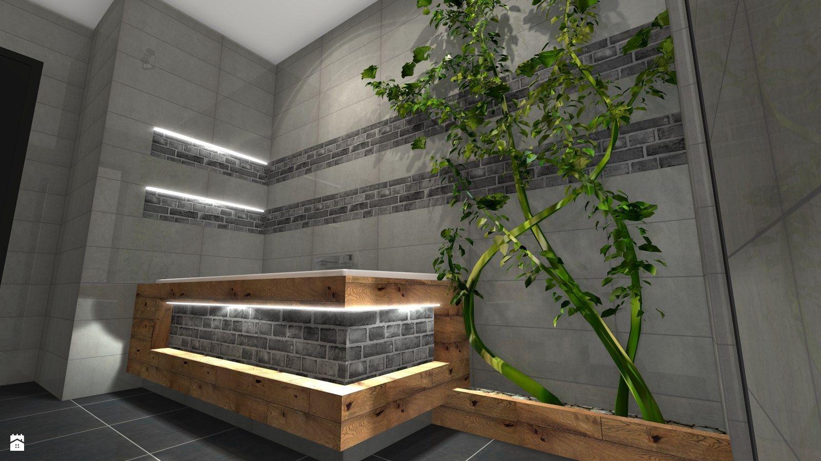 Łazienka styl Rustykalny - zdjęcie od Atena Projektowanie wnętrz