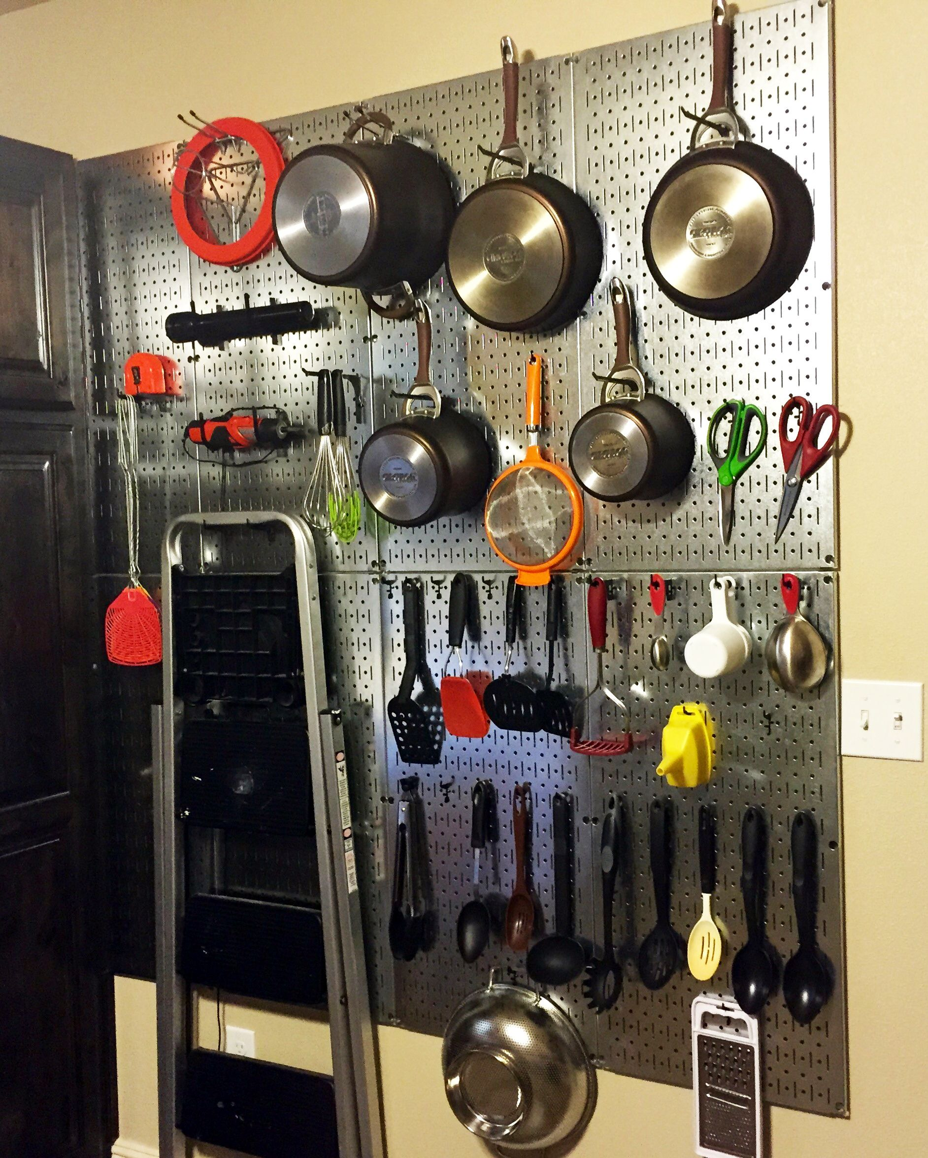 keep the kitchen clean with wall control pegboards store on wall control id=55233