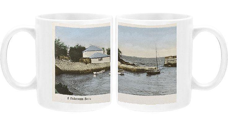 Photo Mug-A Fisherman's home in Bermuda-11oz White ceramic mug made in the USA